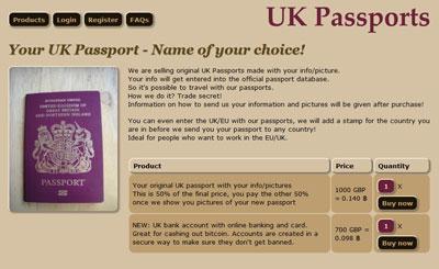 Buy UK Citizenship Screenshot