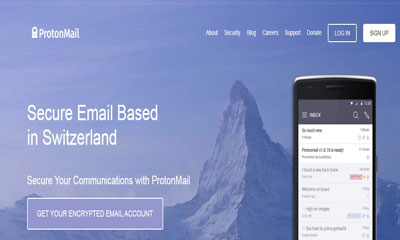 Proton Mail Screenshot