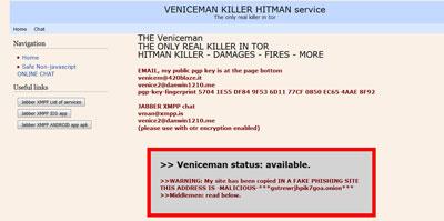 Veniceman Hitman Service Screenshot